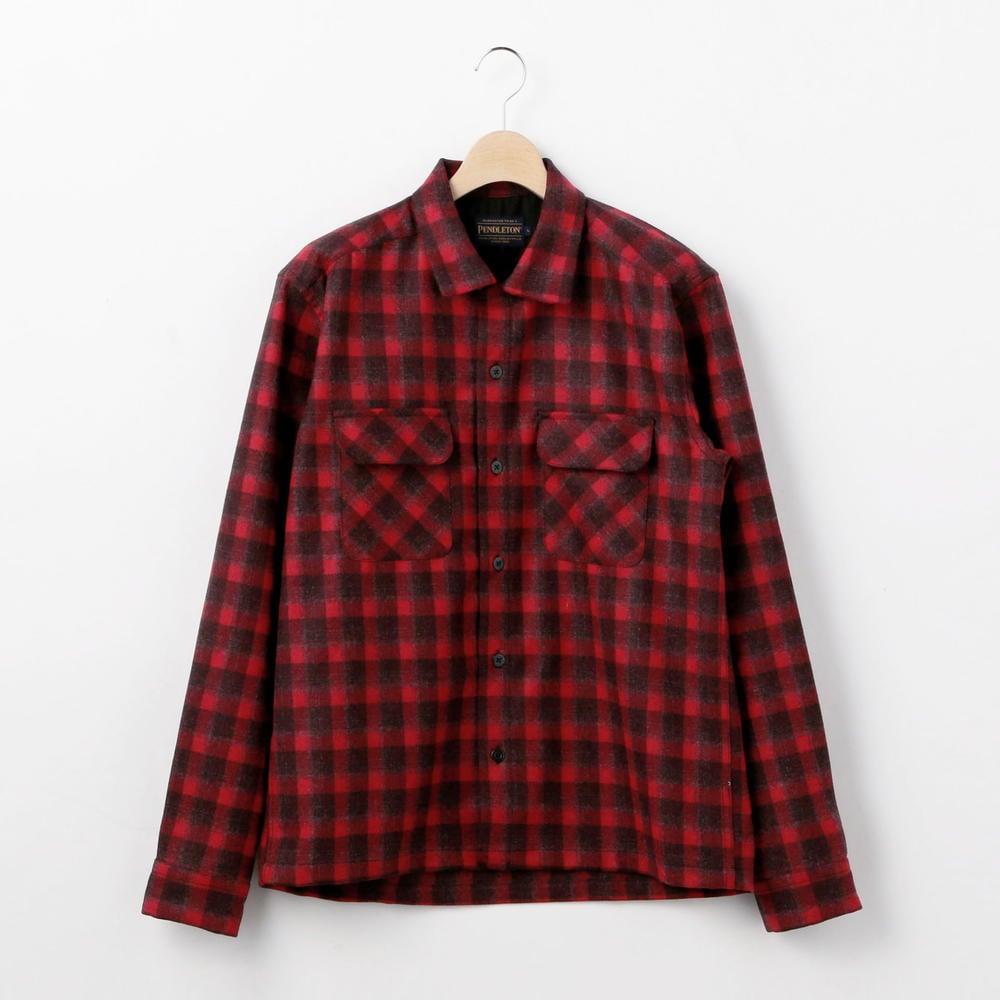 〈別注〉オープンカラーシャツ  Japan Fit MEN
