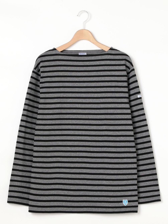 【OUTLET】コットンロードフレンチバスクシャツ STRIPE MEN
