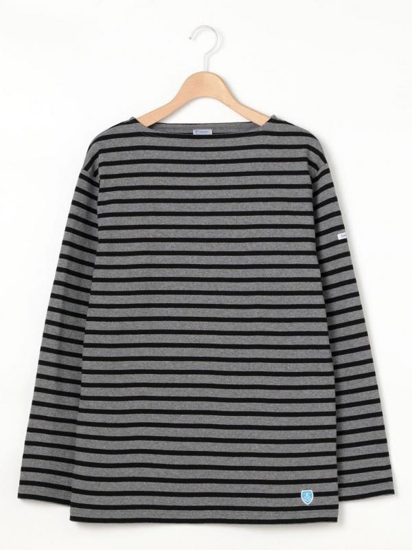 ORCIVAL 【OUTLET】コットンロードフレンチバスクシャツ STRIPE MEN