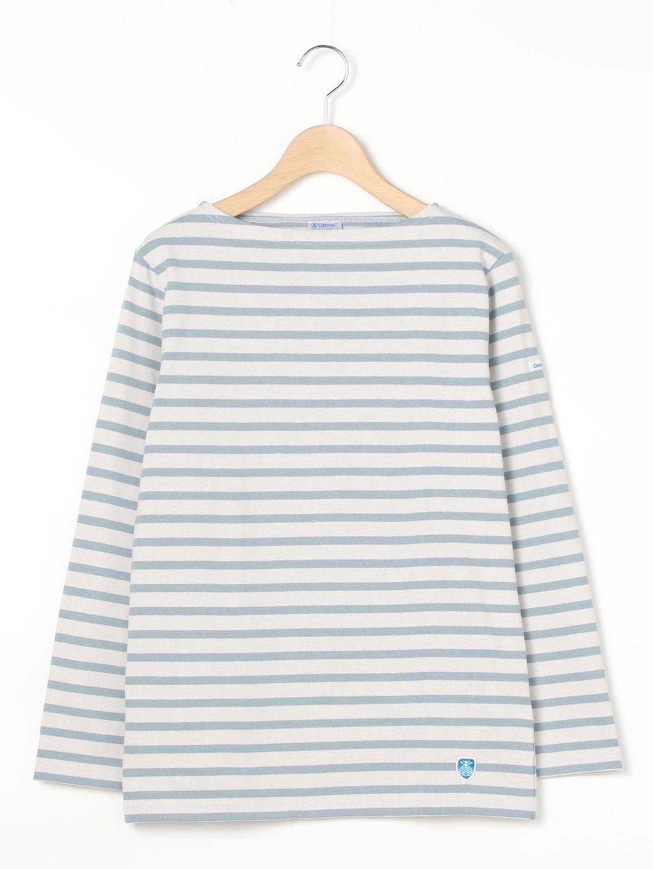 ()【OUTLET】コットンロードフレンチバスクシャツ STRIPE WOMEN