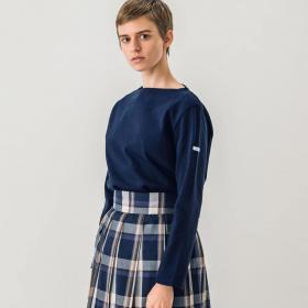 コットンロードフレンチバスクシャツ SOLID WOMEN
