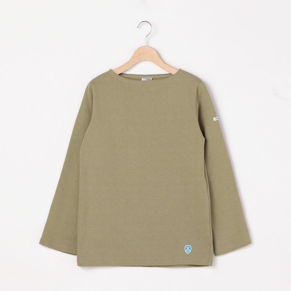【OUTLET】コットンロード フレンチバスクシャツ SOLID WOMEN