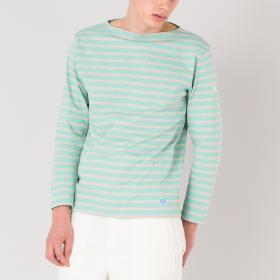 【OUTLET】コットンロード フレンチバスクシャツ MEN