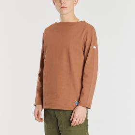 【OUTLET】コットンロード フレンチバスクシャツ SOLID MEN