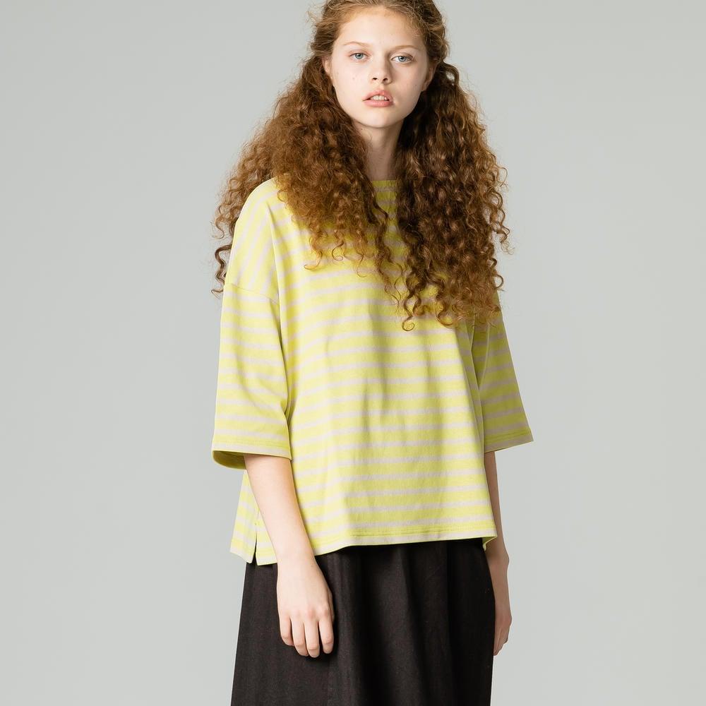 【フェア対象】コットンロード ドロップショルダーTシャツ WOMEN