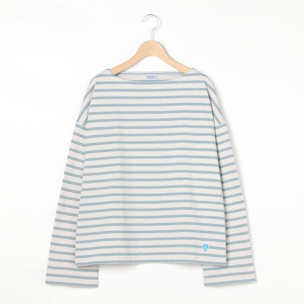 【OUTLET】コットンロード ワイドフレンチバスクシャツ WOMEN