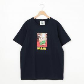 BABARプリントTシャツ MEN