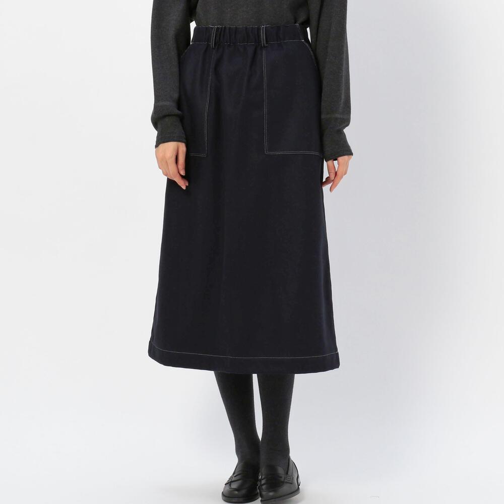 ウール イージースカート WOMEN