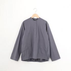 【OUTLET】エラスティック バンドカラーシャツ WOMEN