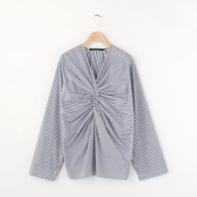 【OUTLET】ツイスト プルオーバーシャツ WOMEN