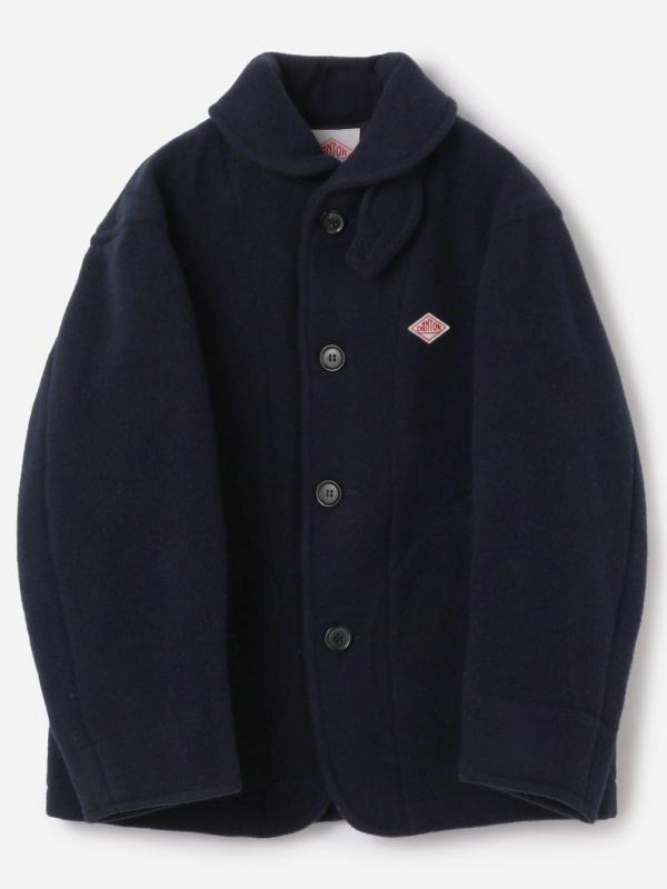 DANTON(ダントン)【ノベルティ対象】ウールパイル 丸襟ジャケット WOMEN