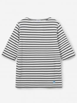 ボートネック5分袖Tシャツ WOMEN