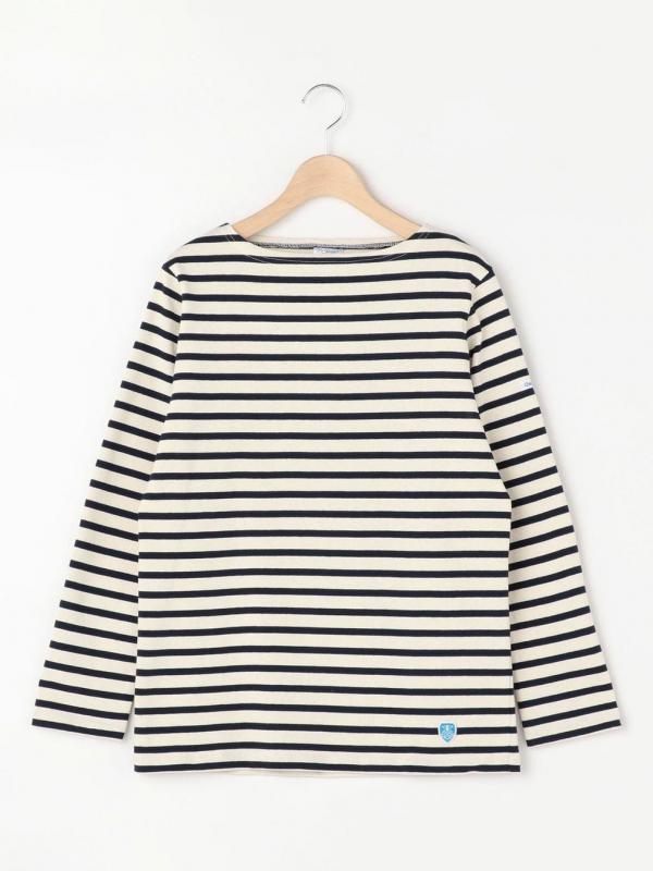 ORCIVAL(オーシバル)コットンロードフレンチバスクシャツ WOMEN