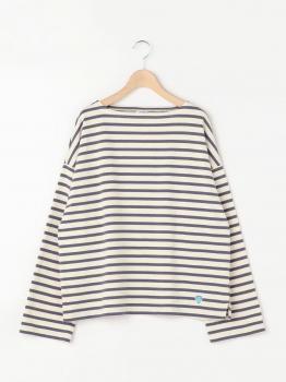 コットンロード ワイドフレンチバスクシャツ WOMEN