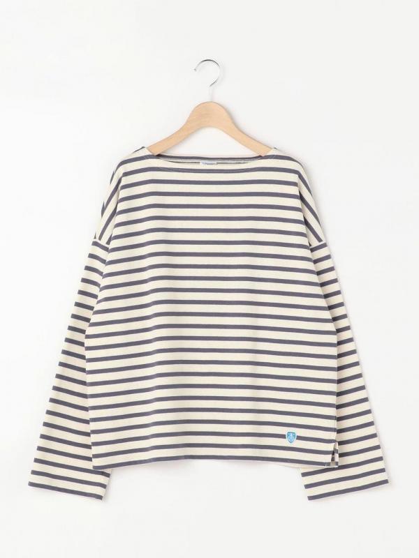 ORCIVAL(オーシバル)コットンロード ワイドフレンチバスクシャツ WOMEN