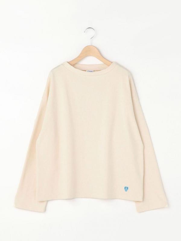 ORCIVAL(オーシバル)コットンロード モックネックTシャツ WOMEN