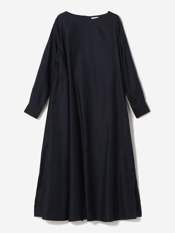 モールスキン クルーネックドレス WOMEN