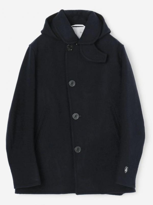 ORCIVAL(オーシバル)ジーロンラムメルトン シングルジャケット MEN