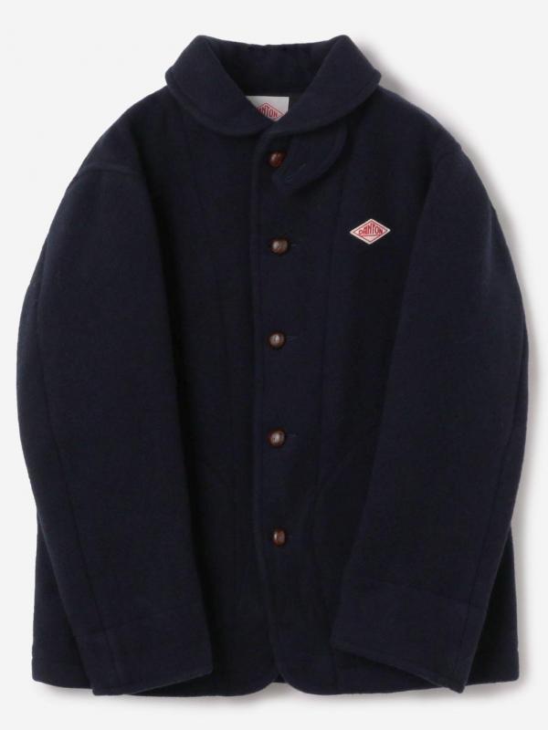 DANTON(ダントン)【ノベルティ対象】ウールパイル 丸襟ジャケット MEN