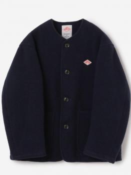 ウールライトパイル カラーレスジャケット MEN