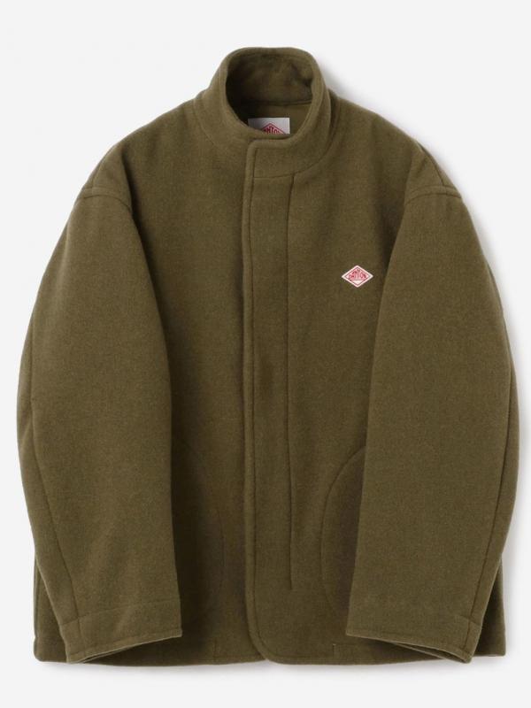 DANTON(ダントン)ウールライトパイル スタンドカラージャケット MEN