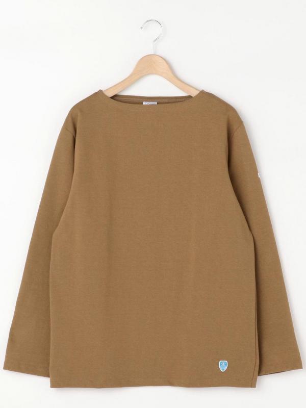 ORCIVAL(オーシバル)コットンロードフレンチバスクシャツ MEN