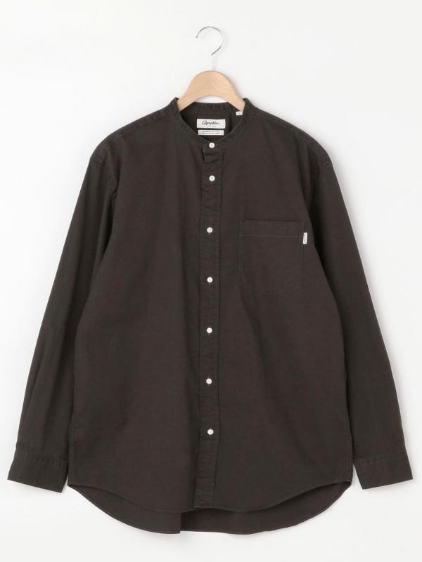 Gymphlex(ジムフレックス)バンドカラーシャツ BIT MEN