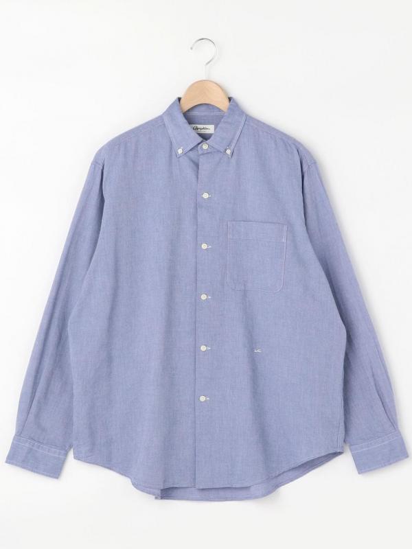 Gymphlex(ジムフレックス)ワイドボタンダウンシャツ LOX MEN