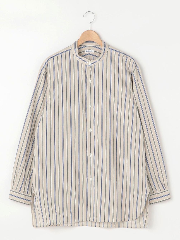 バンドカラーロングシャツ VQN MEN