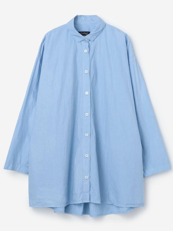 オーバーサイズシャツ BLUE WOMEN