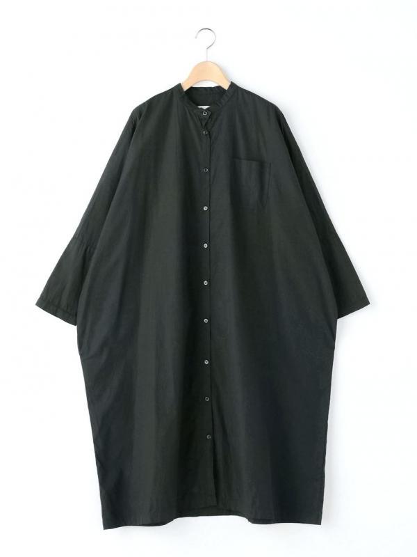 GALLEGO DESPORTES(ギャレゴデスポート)バンドカラーシャツワンピース ポプリン WOMEN