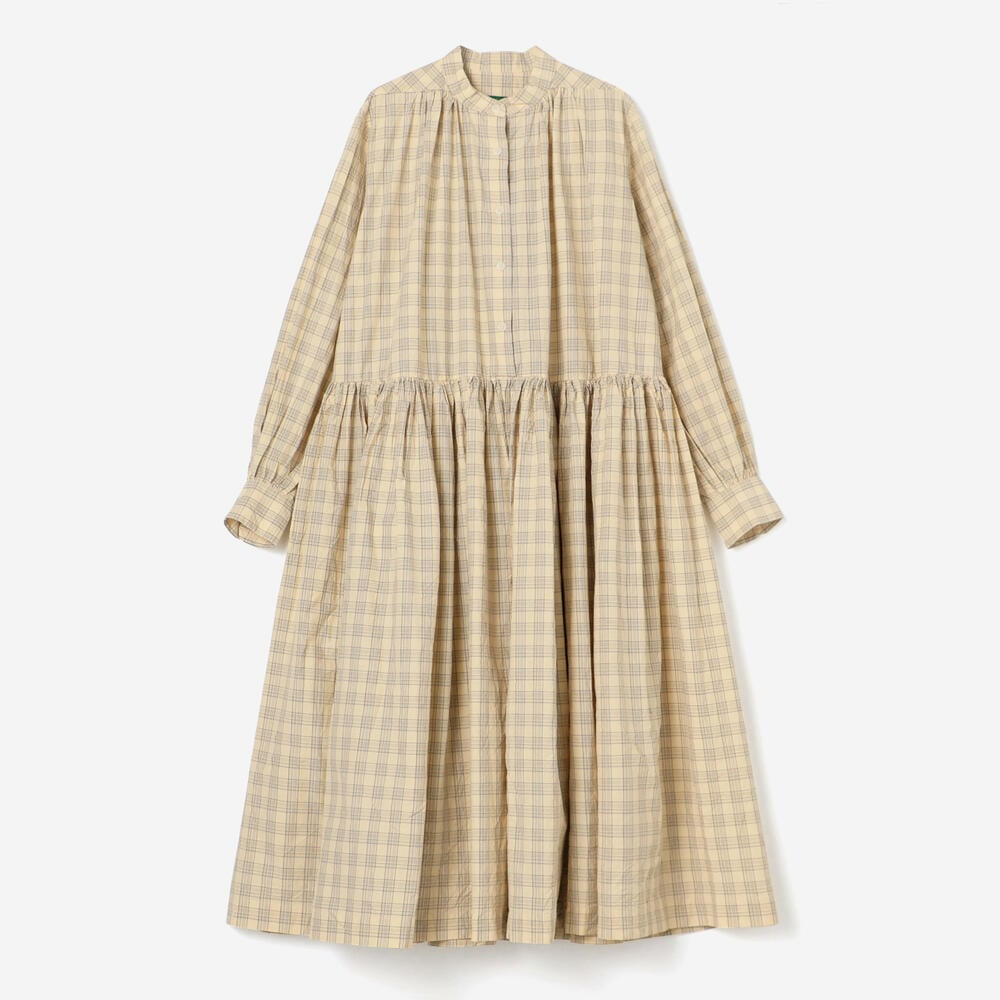 YUKI DRESS NATCHECK WOMEN