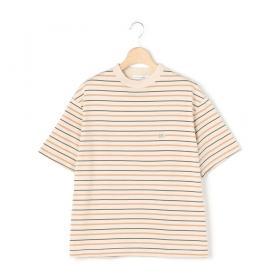 〈別注〉マルチボーダーTシャツ ECRU WOMEN