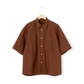 半袖バックギャザーシャツ WOMEN
