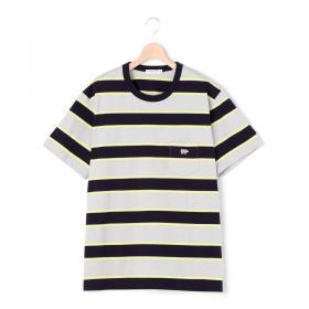〈別注〉マルチボーダーTシャツ GREY MEN