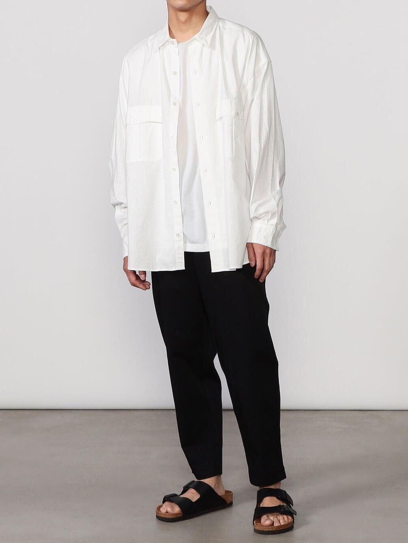 ロールアップコットンシャツ MEN