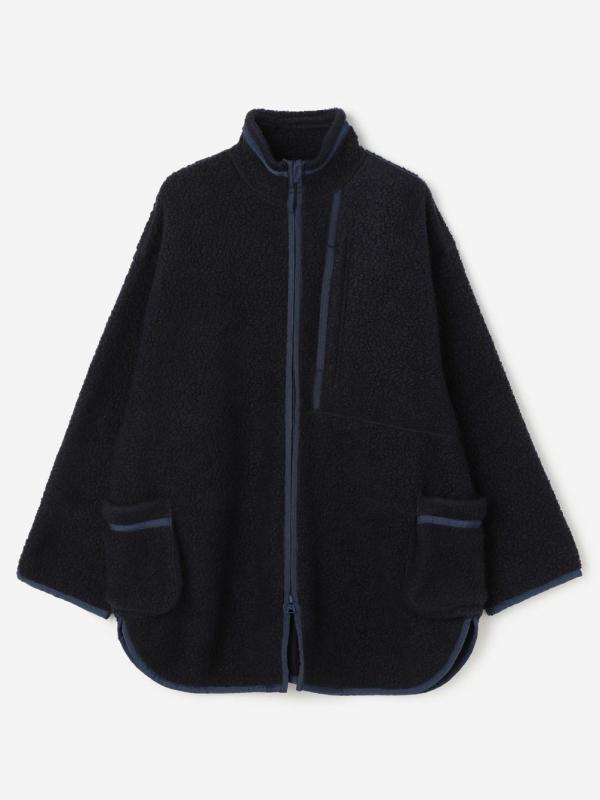 PORTER CLASSIC(ポータークラシック)フリースシャツジャケット WOMEN