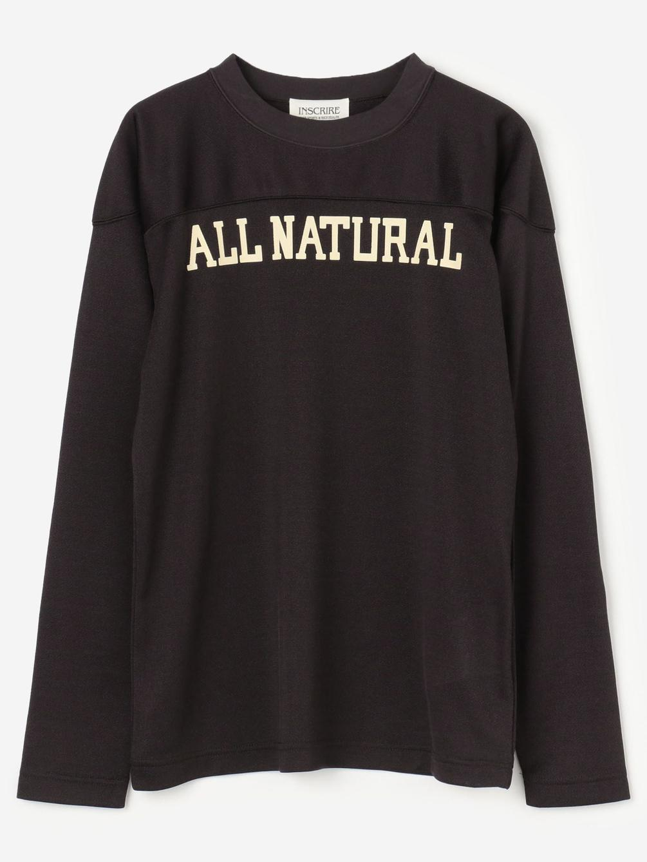 INSCRIRE(アンスクリア)フットボールロングTシャツ WOMEN