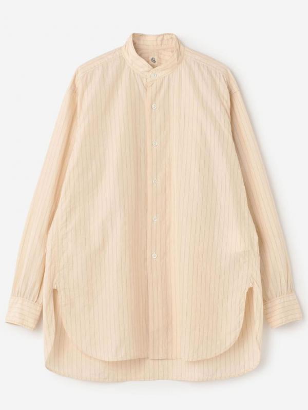 KAPTAIN SUNSHINE(キャプテンサンシャイン)スタンドカラーシャツ WOMEN