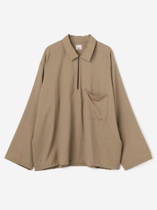 holk(ホルク)スキッパーシャツ WOMEN