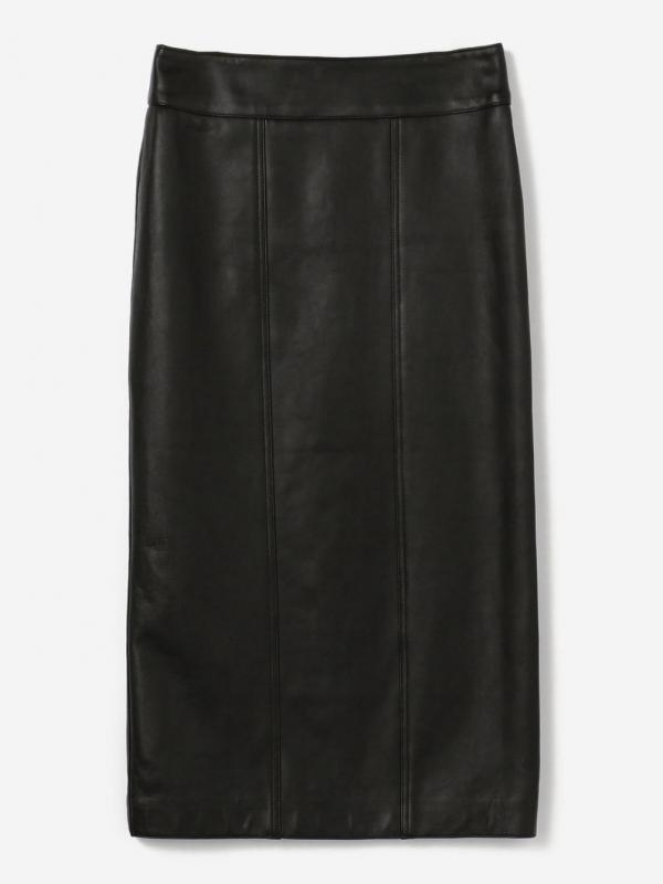 MEYAME(メヤメ)レザーロングスカート WOMEN