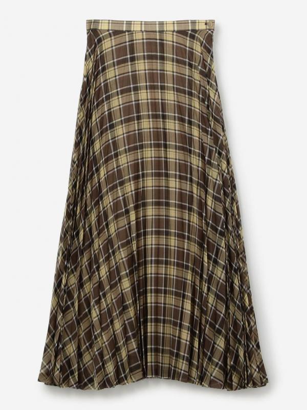 AURALEE(オーラリー)ウールポリエステル シアープリーツスカート WOMEN