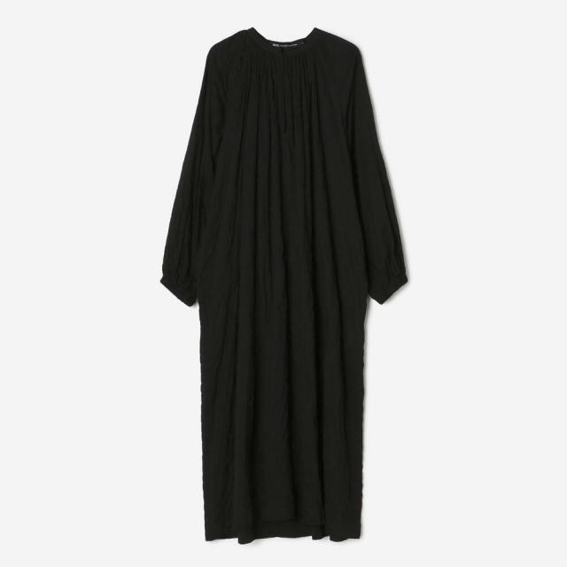 nicholson & nicholson(ニコルソンアンドニコルソン)〈別注〉ギャザーシャツドレス SOLID WOMEN