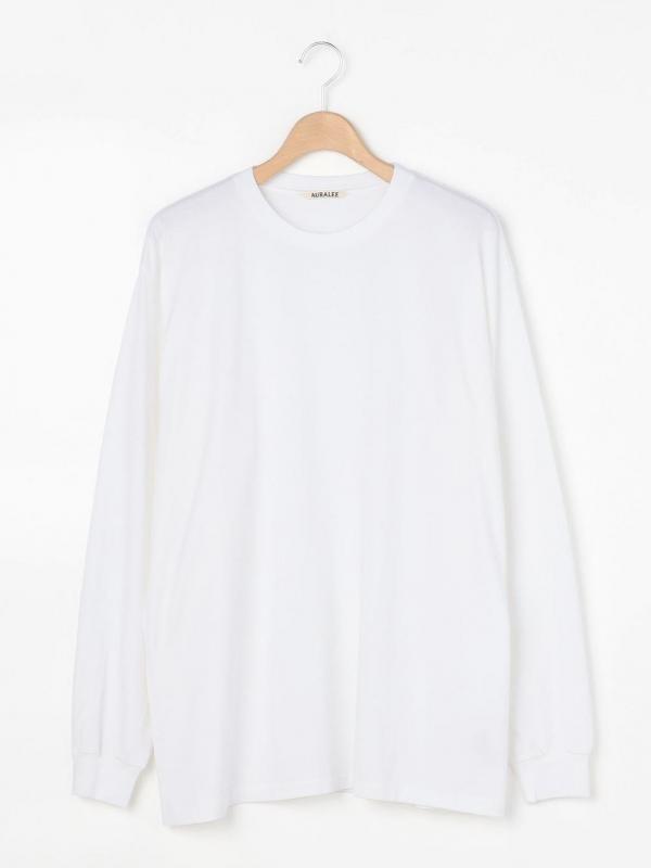 AURALEE(オーラリー)プレーティング 長袖Tシャツ MEN