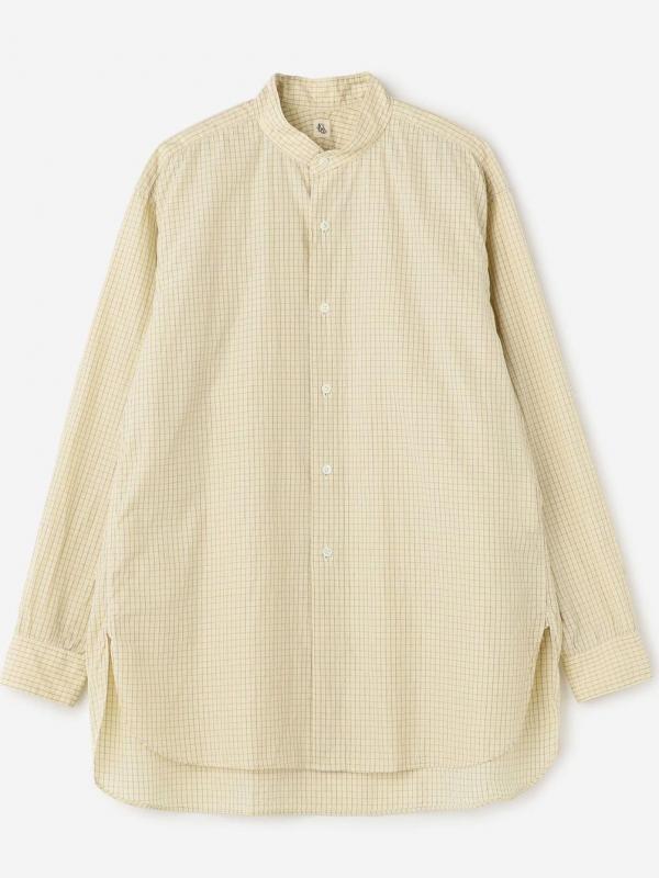 KAPTAIN SUNSHINE(キャプテンサンシャイン)スタンドカラーシャツ MEN