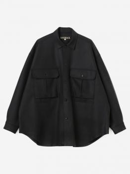 ボイルドニットメルトンシャツ MEN