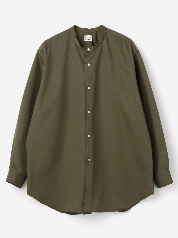 holk(ホルク)〈別注〉スタンドカラーシャツ MEN