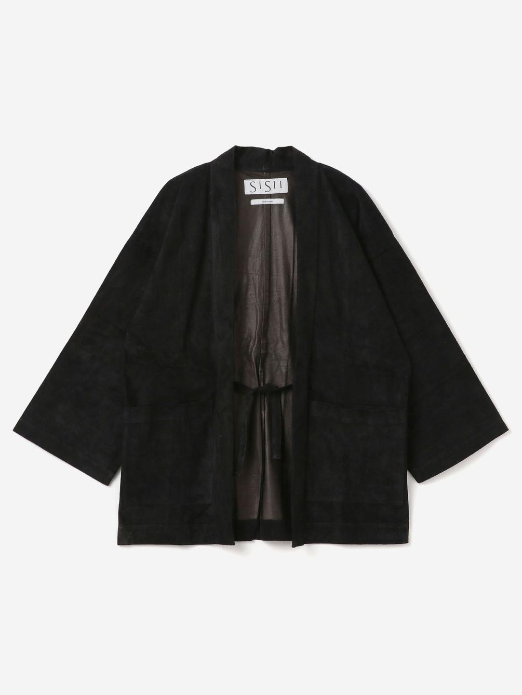 Sisii(シシ)〈別注〉 スエード作務衣 UNISEX