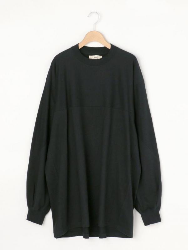 unfil(アンフィル)コットンフランネル ロングスリーブTシャツ WOMEN
