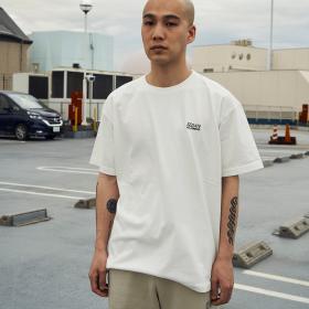 〈別注〉刺繍ロゴTシャツ MEN